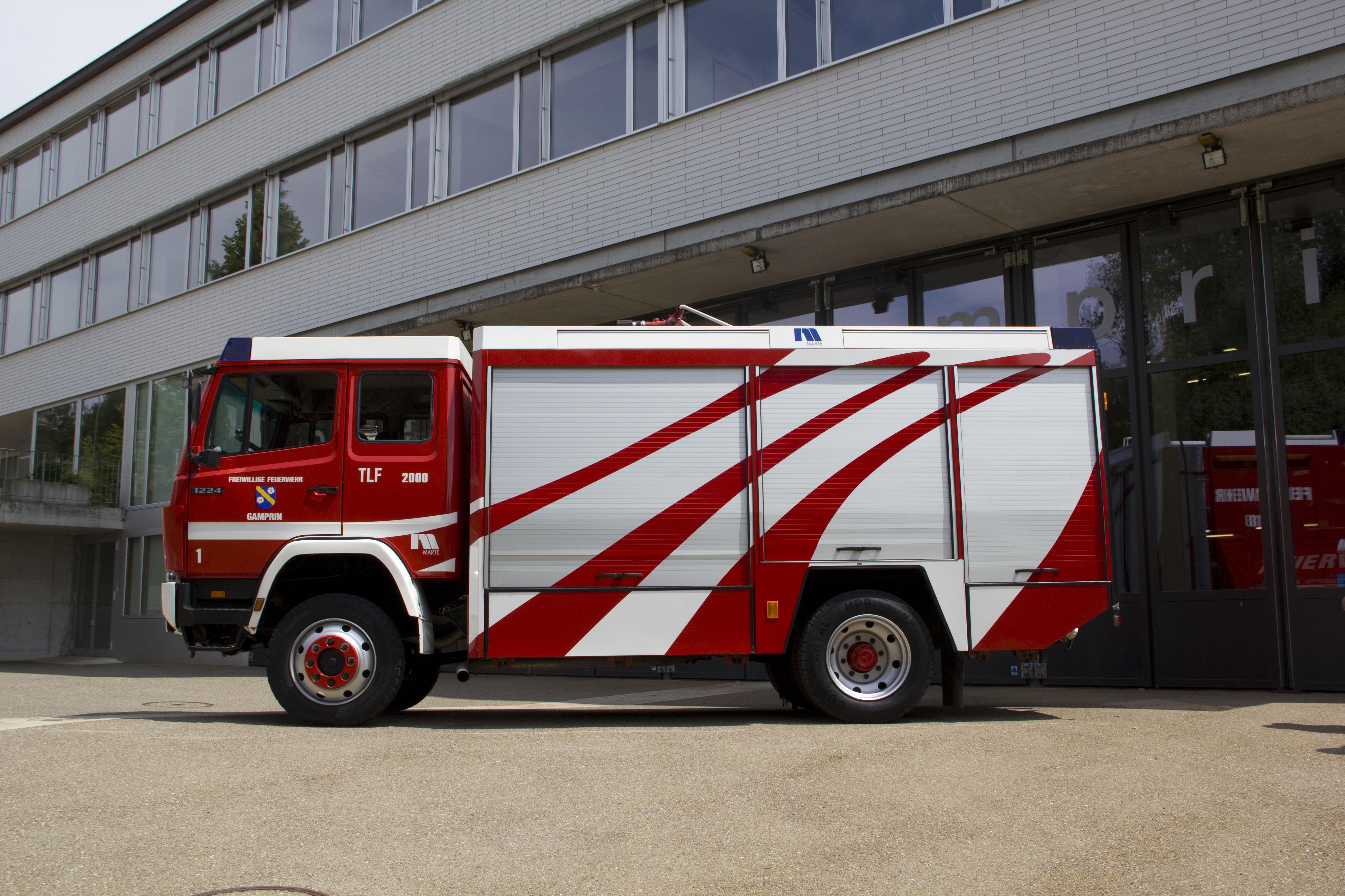 Tanklöschfahrzeug