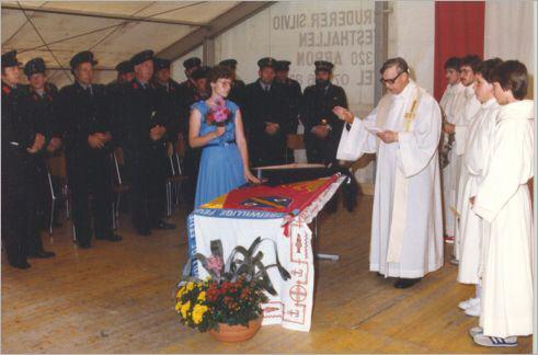 Fahnenweihe 1984